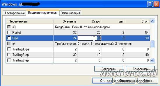 Дооптимизация параметров советника для полного исключения подгонки значений.