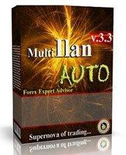 Прибыльный советник MultiIlan для торговых на 9 валютных парах.