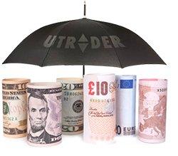 Система страхования депозита от брокера бинарных опционов uTrader.