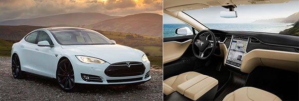 Обзор электрокара Tesla S P85D.