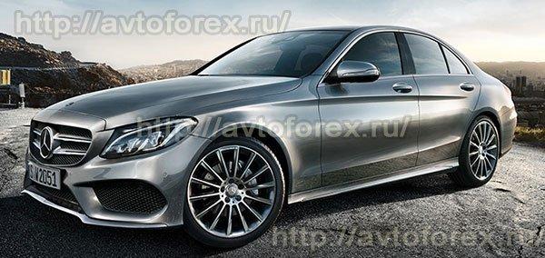 Главный приз в конкурсе Binomo - седан Mercedes-Benz C-класса.