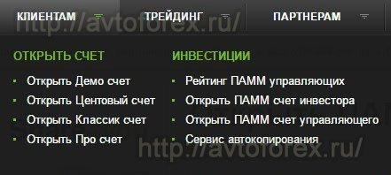 Раздел ПАММ-инвестирования в ДЦ Forex4you.