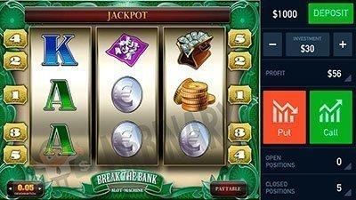 Аналогия торговли бинарными опционами на демо-счёте с игрой в казино.